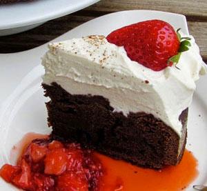 Čokoládový dort s chilli
