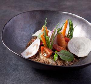 Σαλάτα Κρητική με γεύση από καλιτσούνι από τον Βαγγέλη Παπανίκα
