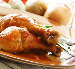 Chicken Drumsticks with Ginger and Lime