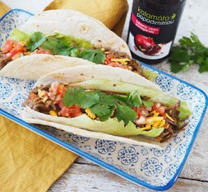 Tacos s trhaným masem