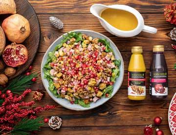 Χριστουγεννιάτικη σαλάτα με γλυκοπατάτες