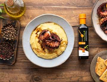 Χταπόδι με βαλσαμικό ξίδι με μέλι και πορτοκάλι