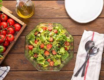 Salát naruby